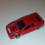 CORGI JUNIORS Ferrari Testarossa red Bonnet Tampo @SOLD@